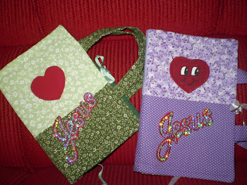 Capas de bíblia em patchwork