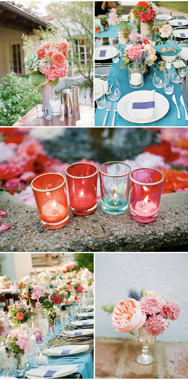Southern California Backyard Garden Wedding