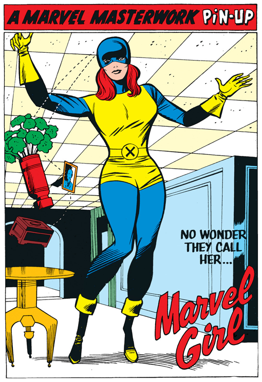 original x men marvel girl