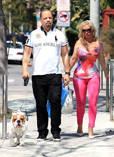 SATURDAY COUPLES THEDY LAIZER WITH TOBIAS AND COCO WITH ICE T