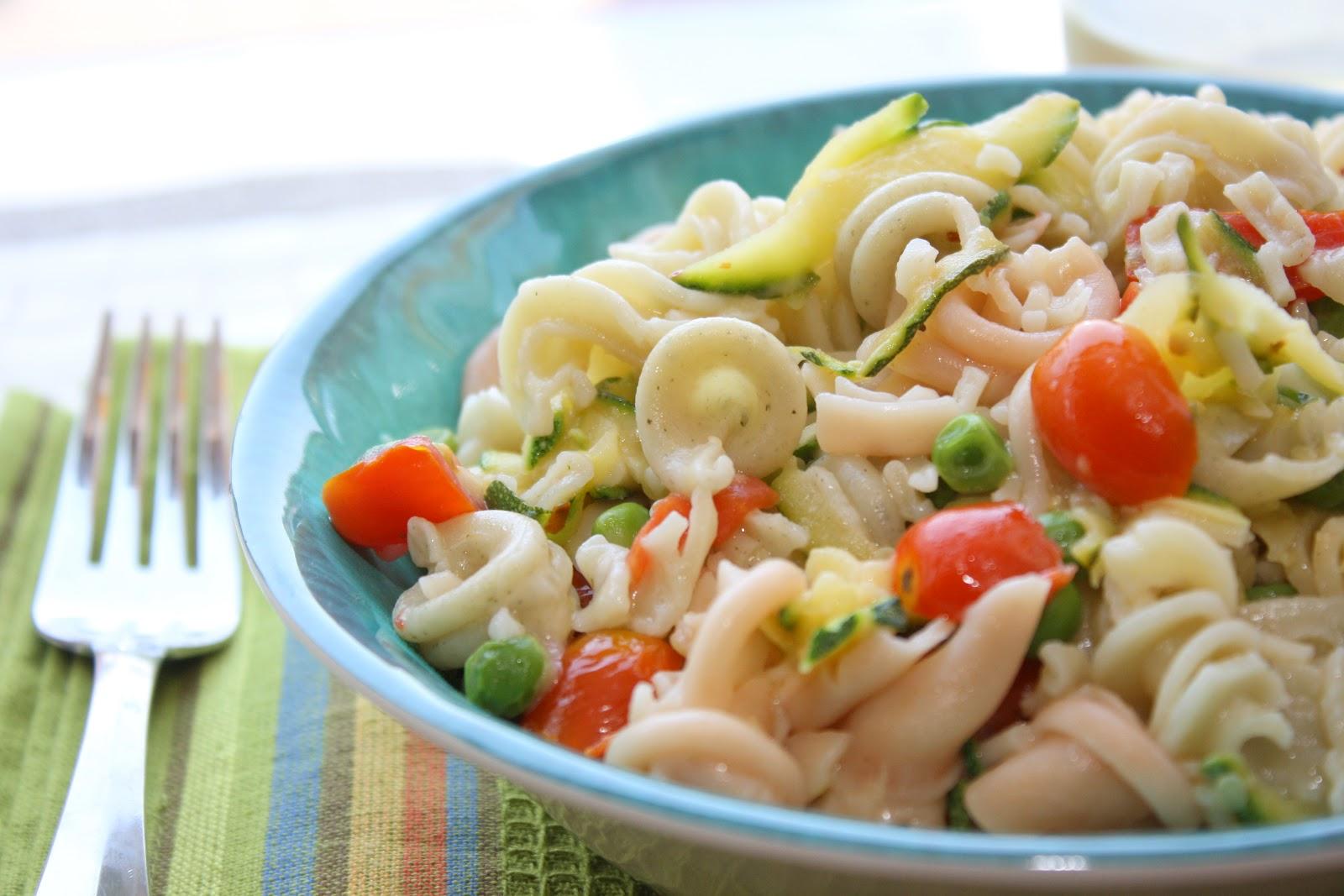 The Bitchin' Kitchin': Spring Vegetable Pasta