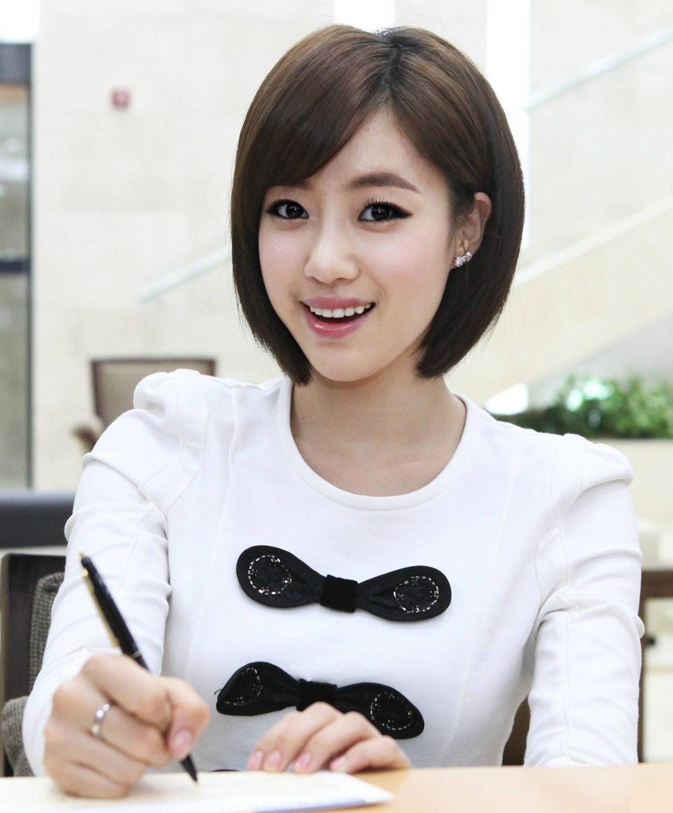 Korean Hairstyles Eunjung T Ara Korean Hairstyles Korean
