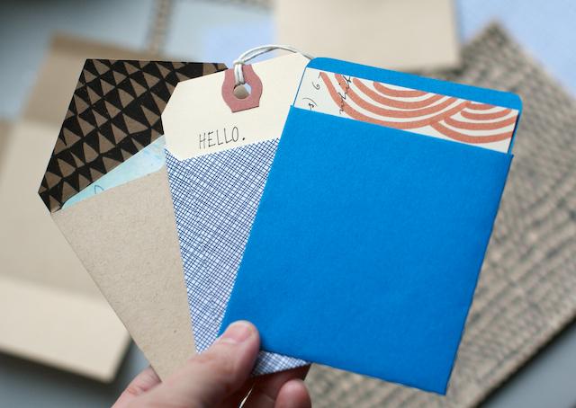 Habit of art handmade envelopes in a jiffy for Homemade envelopes