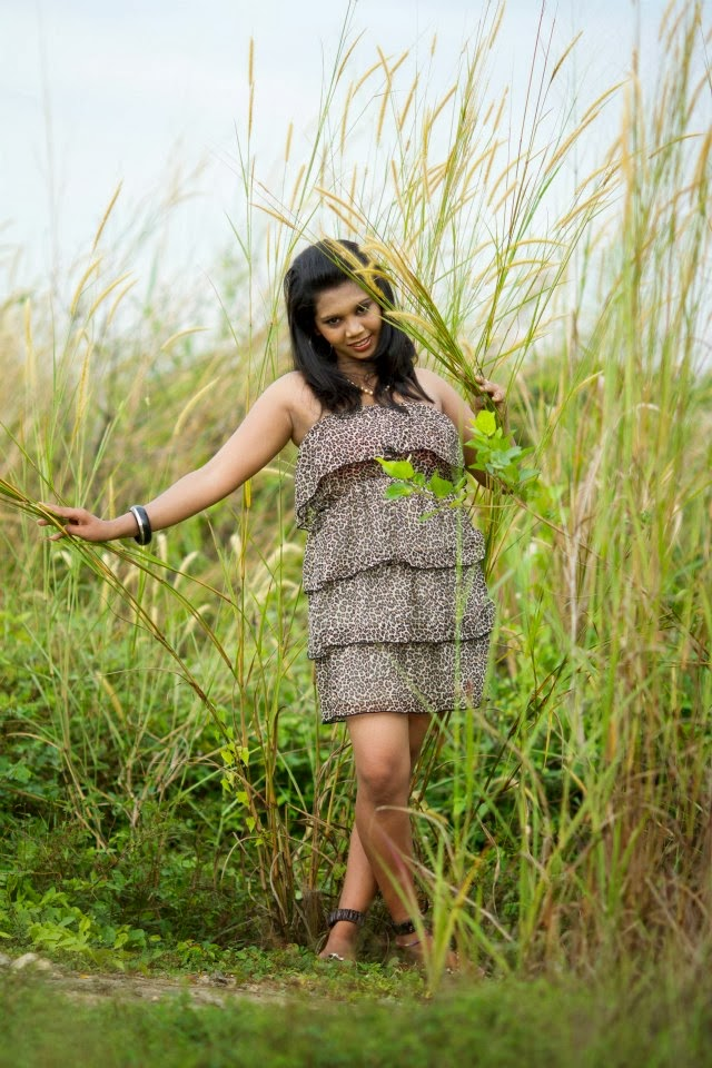 Thilini Handunge short dress