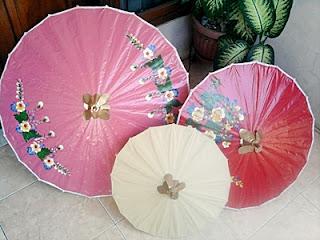 Payung kertas Tasikmalaya