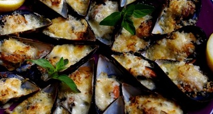 how to cook wild mussels