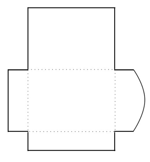 Agile image regarding envelope template printable