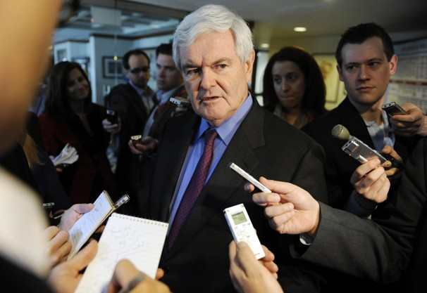 newt gingrich wives. Newt fell short with his