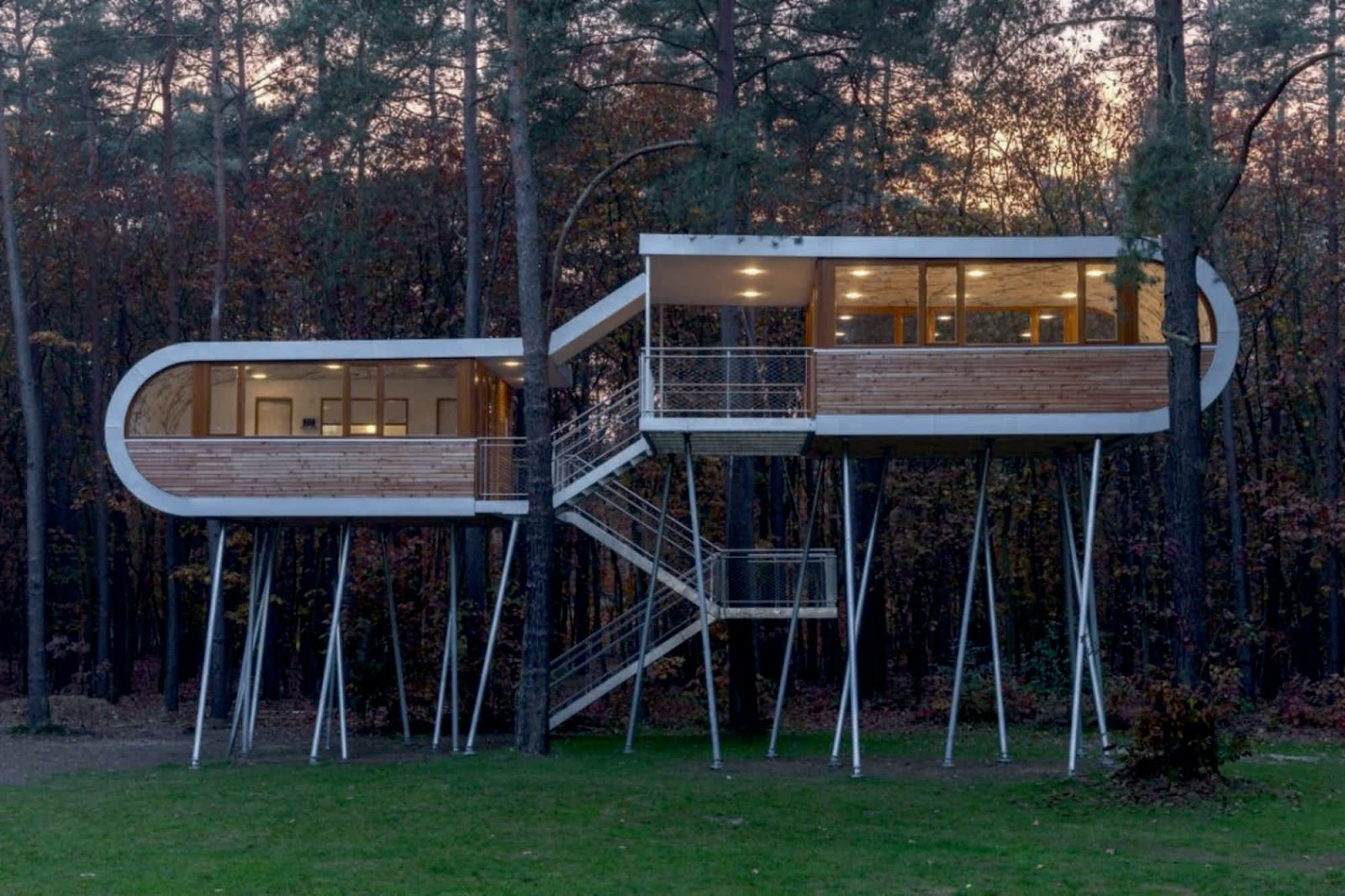 The tree house by baumraum for Architecture and design tree house