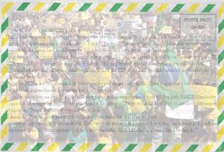 Movimentos de manifestantes pro-impeachment entregam carta ao congresso