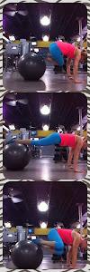 Oblique Stability Ball Tucks