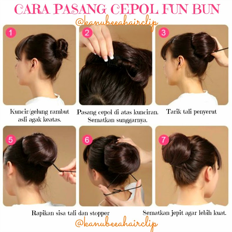 Tutorial Kuncir Rambut | hairstylegalleries.com