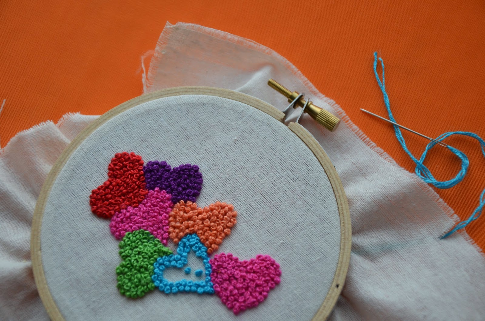French knots tutorial