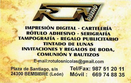 ROTULOS NICOLAS