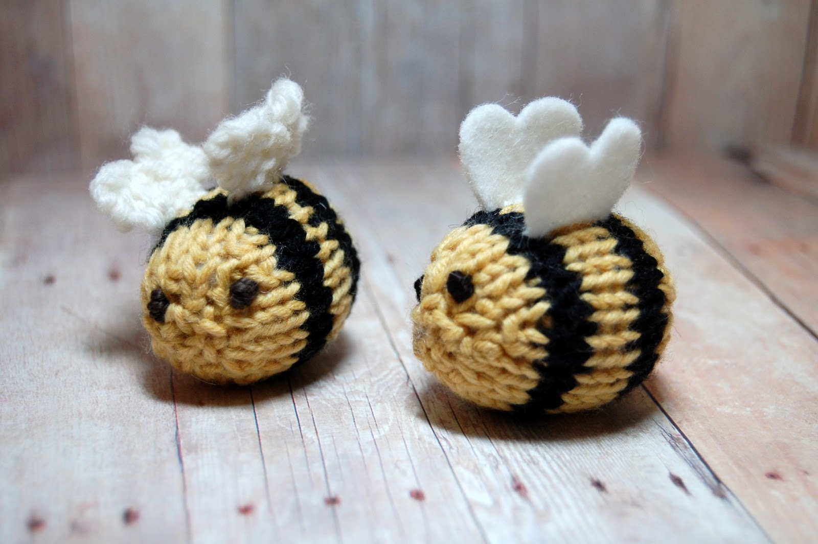 Free Dog Patterns To Knit : Sweet Bauer Knits: Bumble Bee Knitting Pattern