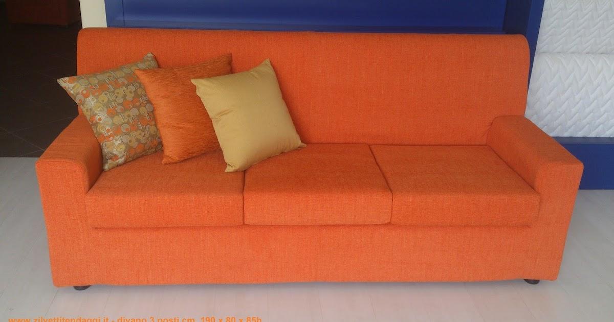 Tende materassi letti poltrone divani zilvetti tendaggi divano 3 posti sfoderabile in offerta - Divano ecopelle offerta ...