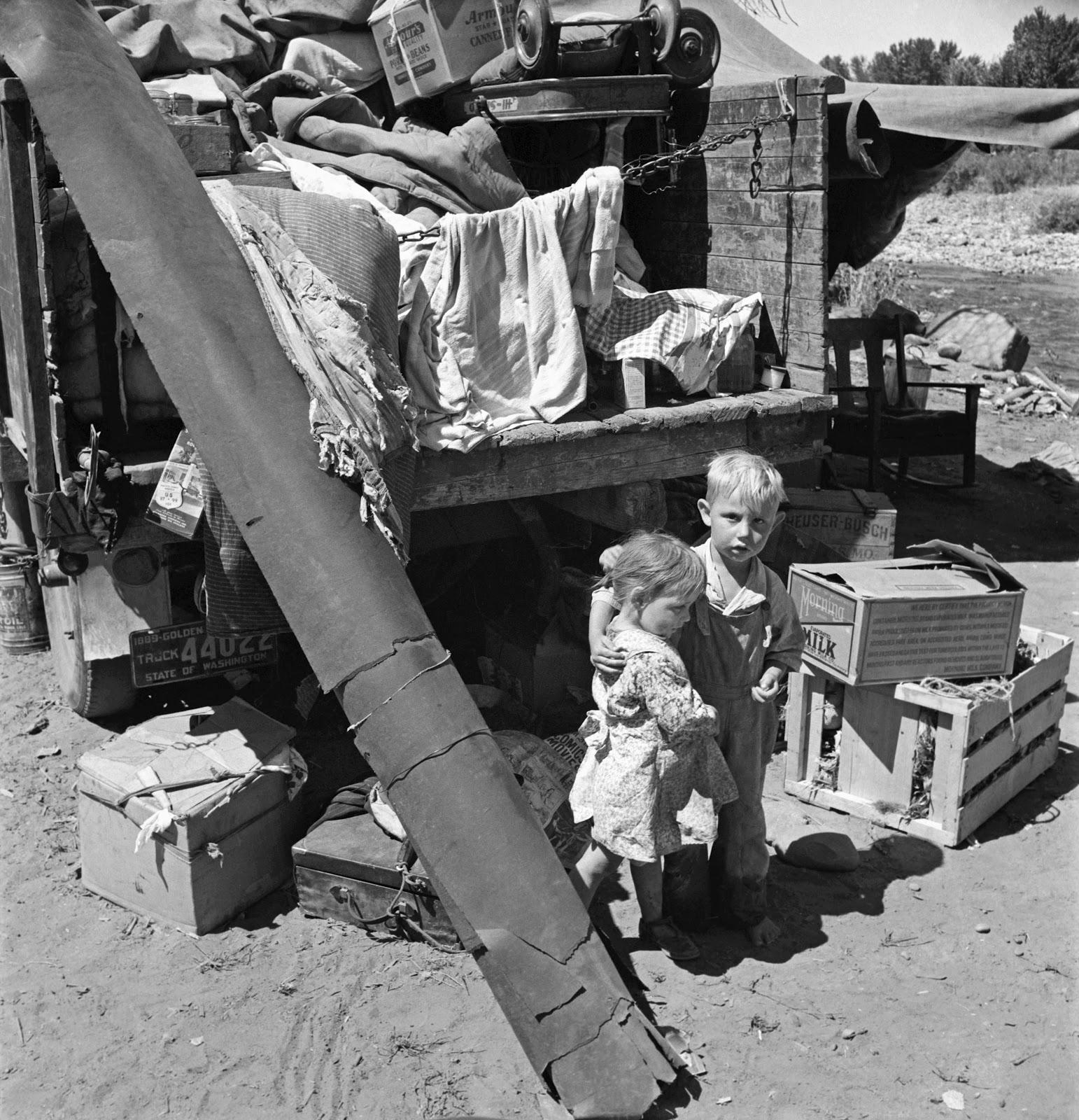 History In Photos Dorothea Lange Kids