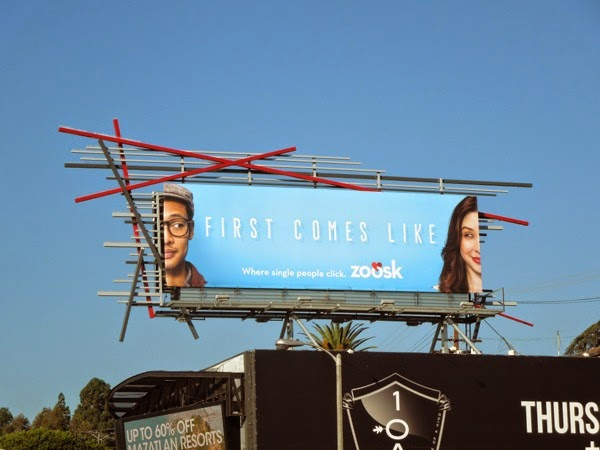 Zoosk First comes like dating billboard