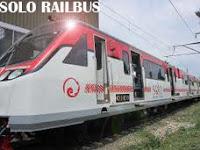 Railbus (Bus Kereta Api) Pertama di Solo | Railbus Jurusan Solo-Wonogiri