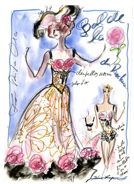 Cartel del Baile de la Rosa 2013