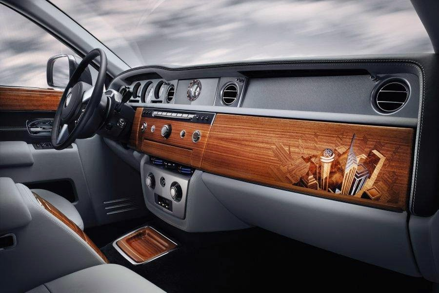 Rolls-Royce Phantom Metropolitan Collection (2014) Dashboard