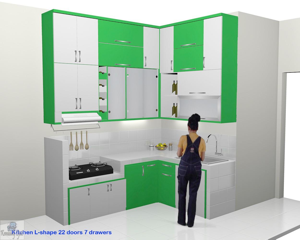 Kitchen Set Minimalis Bentuk L Www Oscargilaberte Com