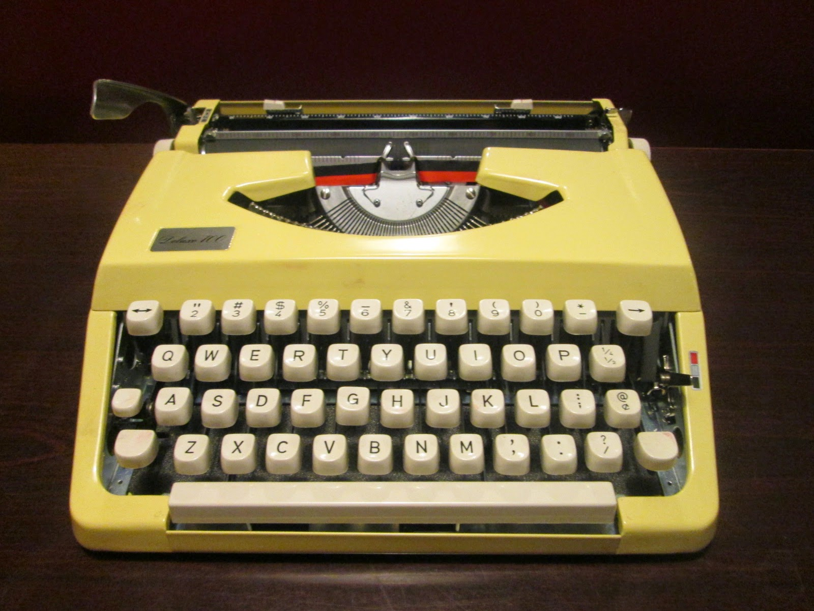 Seattle-Firs Typewriter: Kmart Deluxe 100--1977