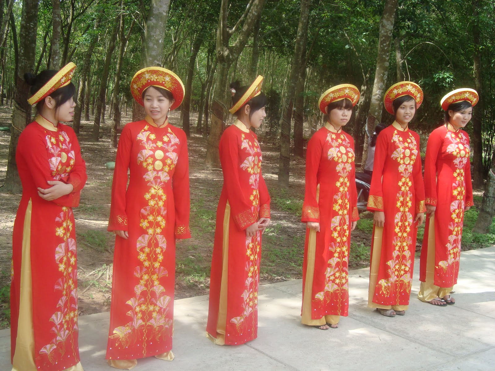 Beautiful Dresses Aodai Ao Traditional Costumes Vietnam Women Clothing
