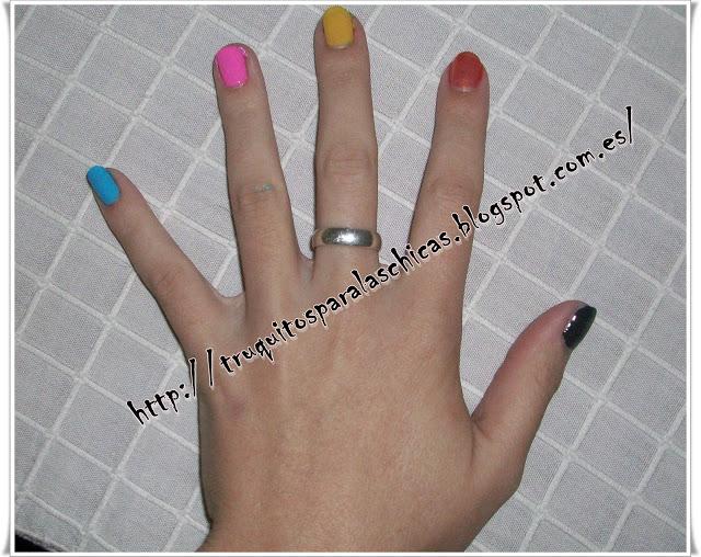 manicura colores
