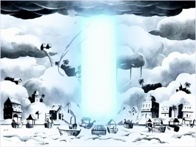 พลังสายฟ้าทำลายเมือง