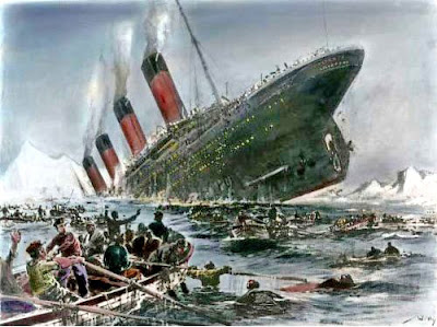 the sinking of the Titanic, 15 April 1912 -Travel Europe Guide | Titanic 100th anniversary