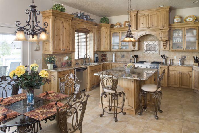 Muebles y decoraci n de interiores cocinas r sticas alemanas - Decoracion cocina rustica ...