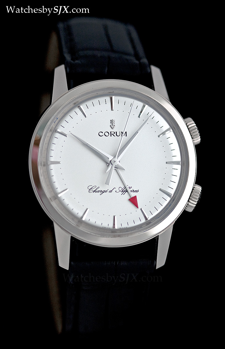 watches by sjx  photo essay  corum charg u00e9 d u0026 39 affaires alarm