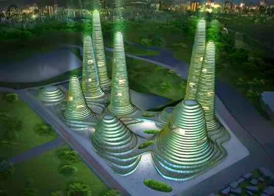 Arquitectura Futurista Arquitectura Sostenible