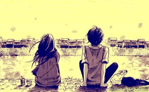 Beautiful Sad Anime Couples Photo