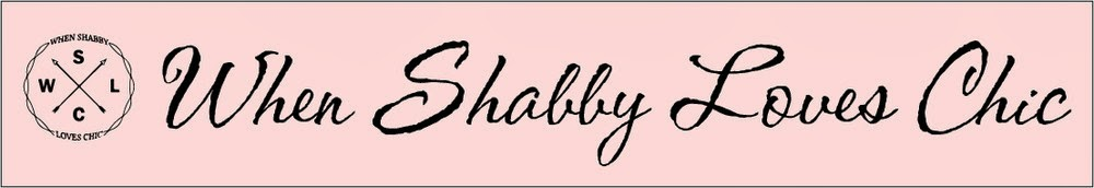 when SHABBY loves CHIC