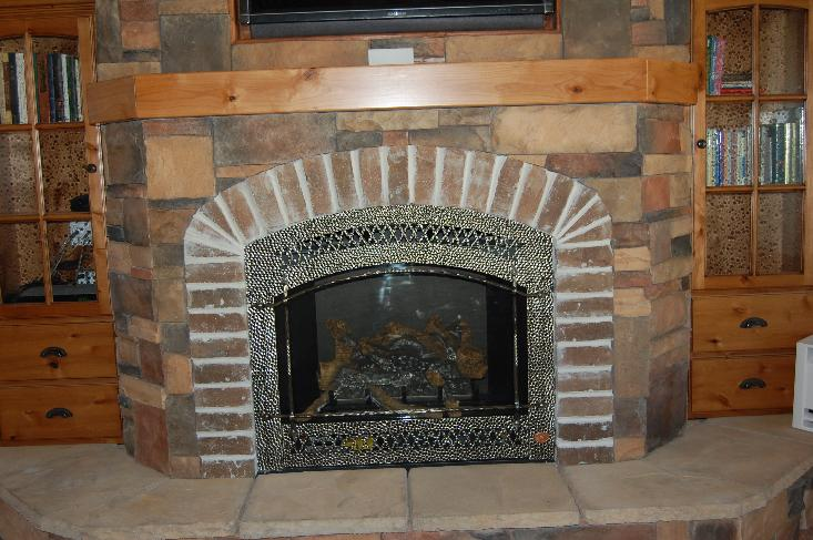 Stallings Sheet Metal: Stove/Fireplace Installation Pics