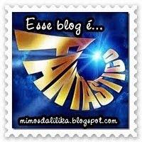 Ganhei esse selinho do blog Mimos da Lilika