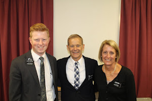 Elder Chappell and President Vidmar