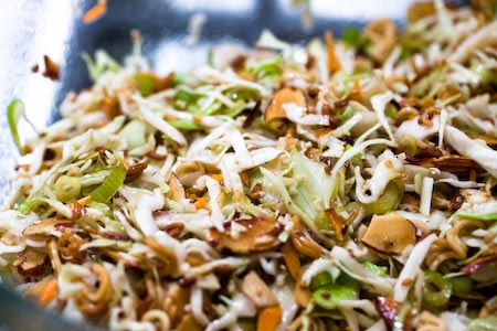 My Kitchen: Asian Cole Slaw