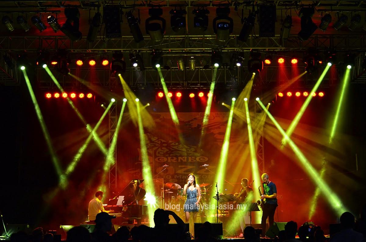Diana Liu Borneo Jazz