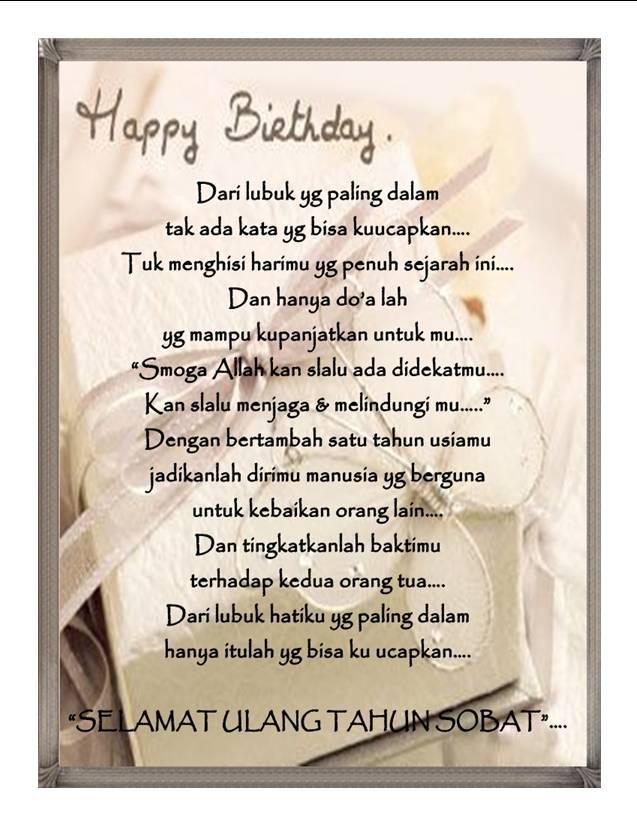 Kerissamudera5104 Ucapan Selamat Ulang Tahun Untuk Sahabat Dan Teman