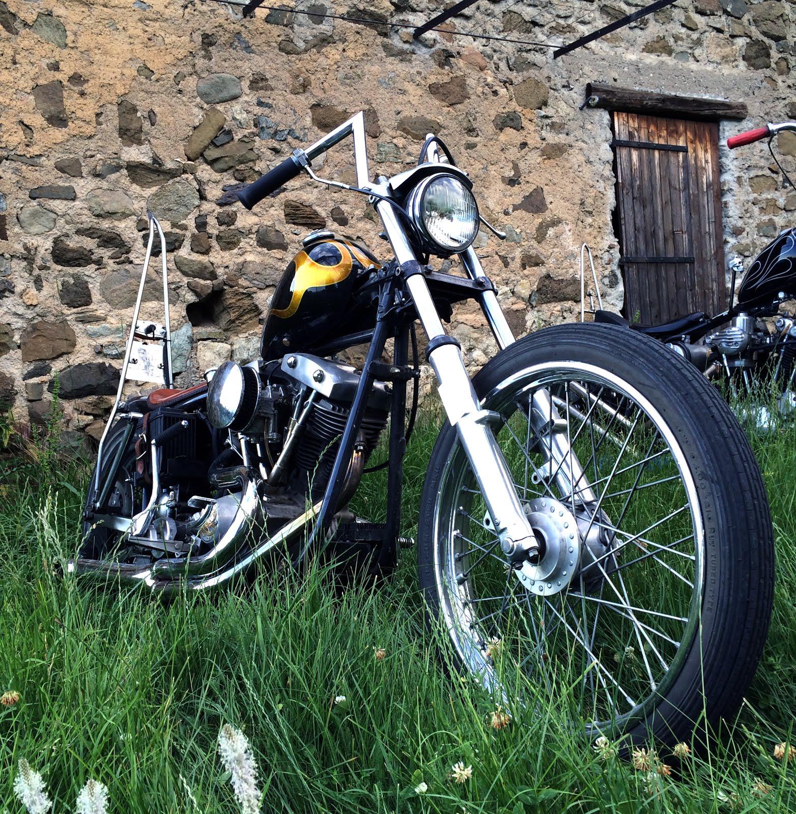 Harley Shovelhead Chopper