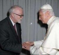 Líder batista e o Papa Bento VI
