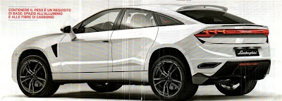 new audi lamborghini suv rear view