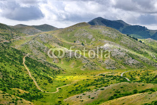 mountain landscape of Pelister National Park, Republic of Macedonia