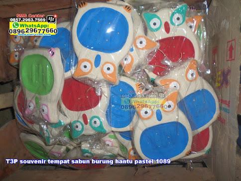 souvenir tempat sabun burung hantu pastel 1089 jual