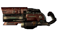 Railgun from Quake 3 and 4 video game weapons