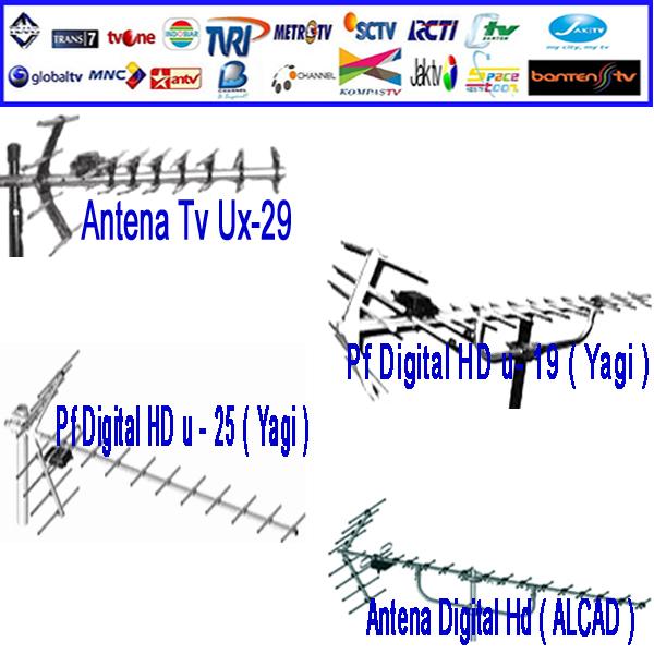 Cara Menangkap Sinyal Siaran Gratis Antena Tv Parabola Digital