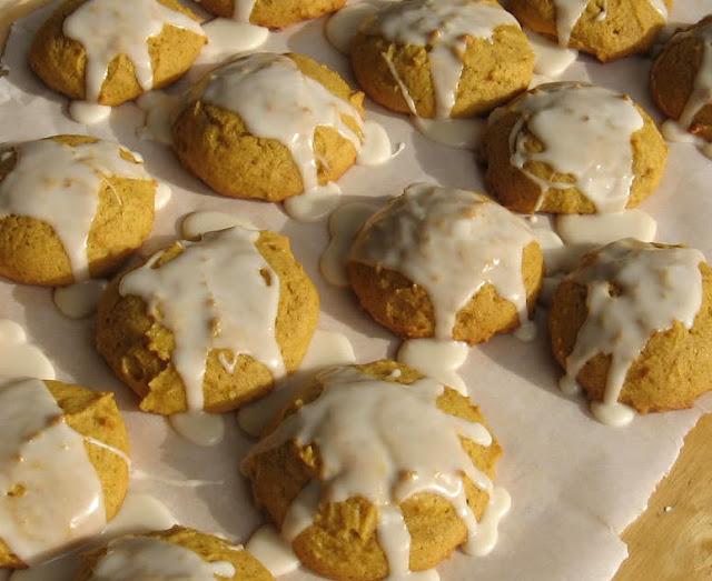 Soft Pumpkin Cookies by freshfromthe.com